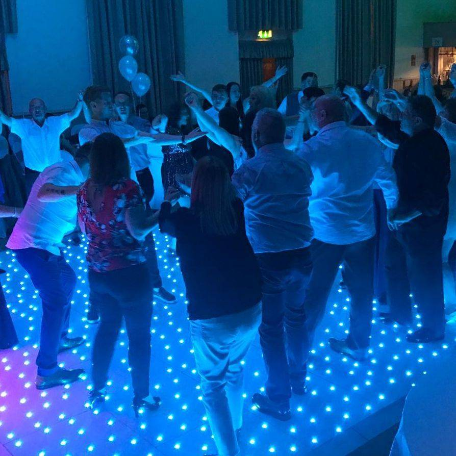 Wedding DJ LED Dancefloor across Birmingham Bromsgrove Black Country Coventry Cheshire Dudley  Redditch   Solihull Stourbridge Staffordshire Statford Upon Avon  Sutton Coldfield Wolverhampton Walsall Warick London   all area's covered as well as other locations throughout the West Midlands