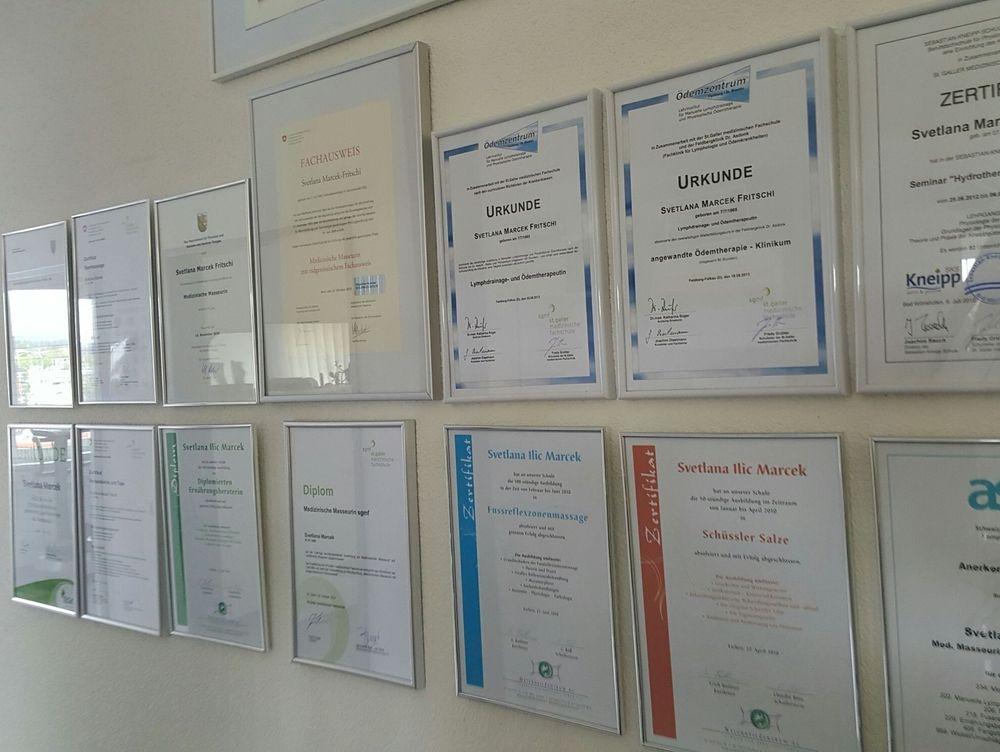 Diplome und Zertifikate von Svetlana Marcek