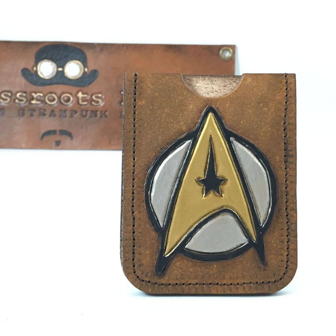 Single slot wallet Star Trek