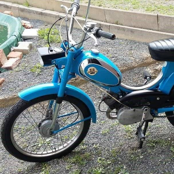 DKW Restauration Moped 50ccm 2Takt