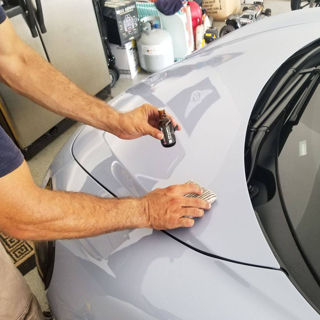 mobile car detailing, ceramic coating application, Gwinnett Auto Appearance