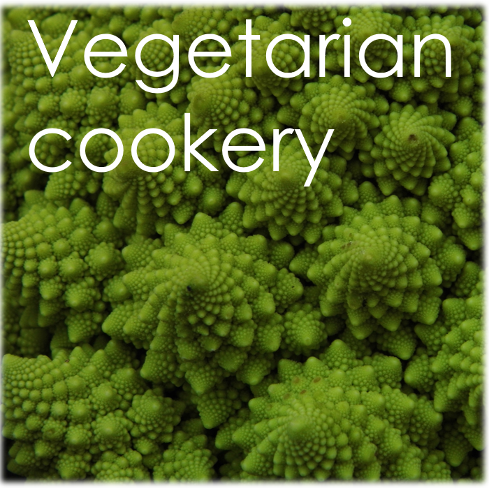 vegetarian vegan cookery course