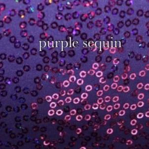 purple sequin