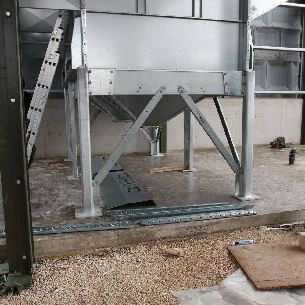 Perry grain dryer