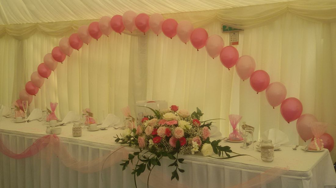 Pinks Balloon Arch