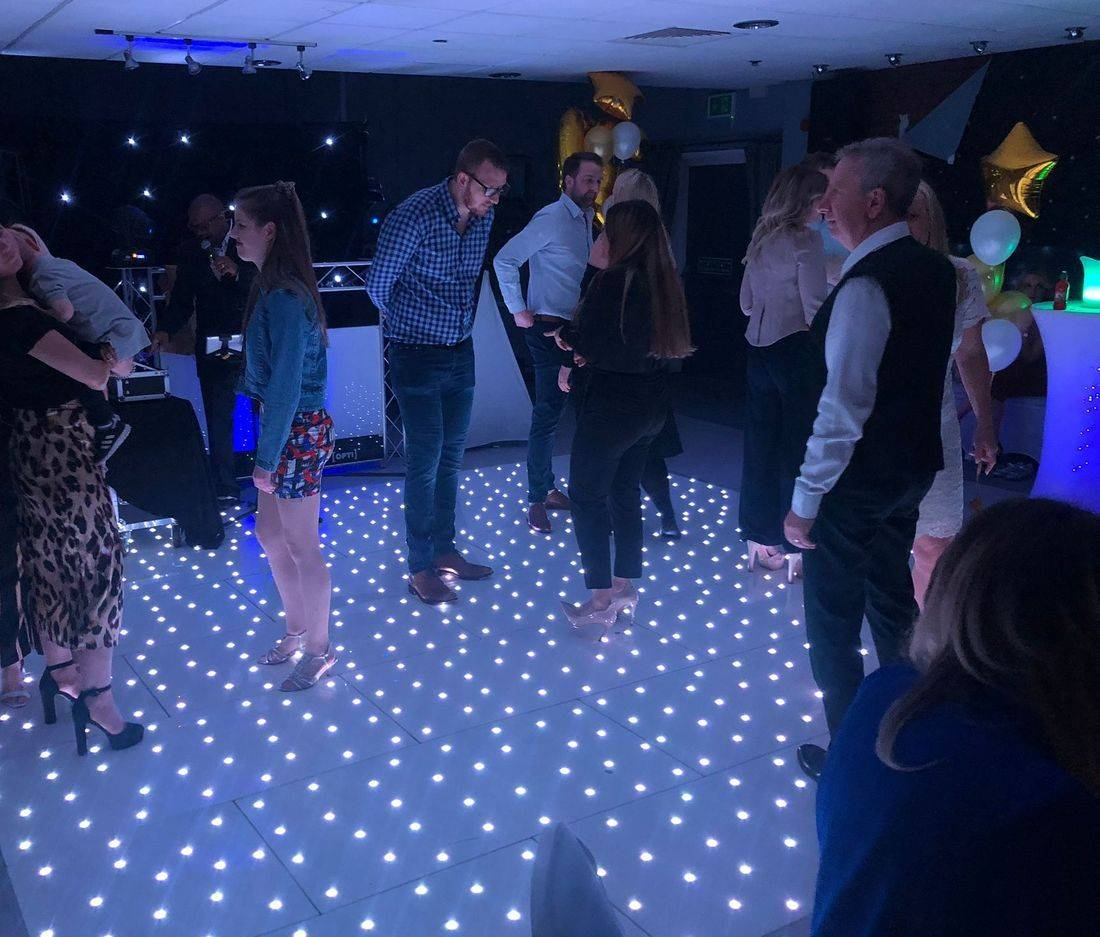 Stourbridge  LED Dancefloor Hire Wedding Bride Groom