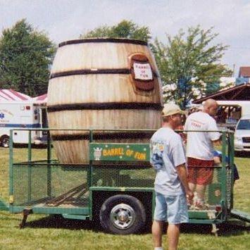 Barrel Spin ride