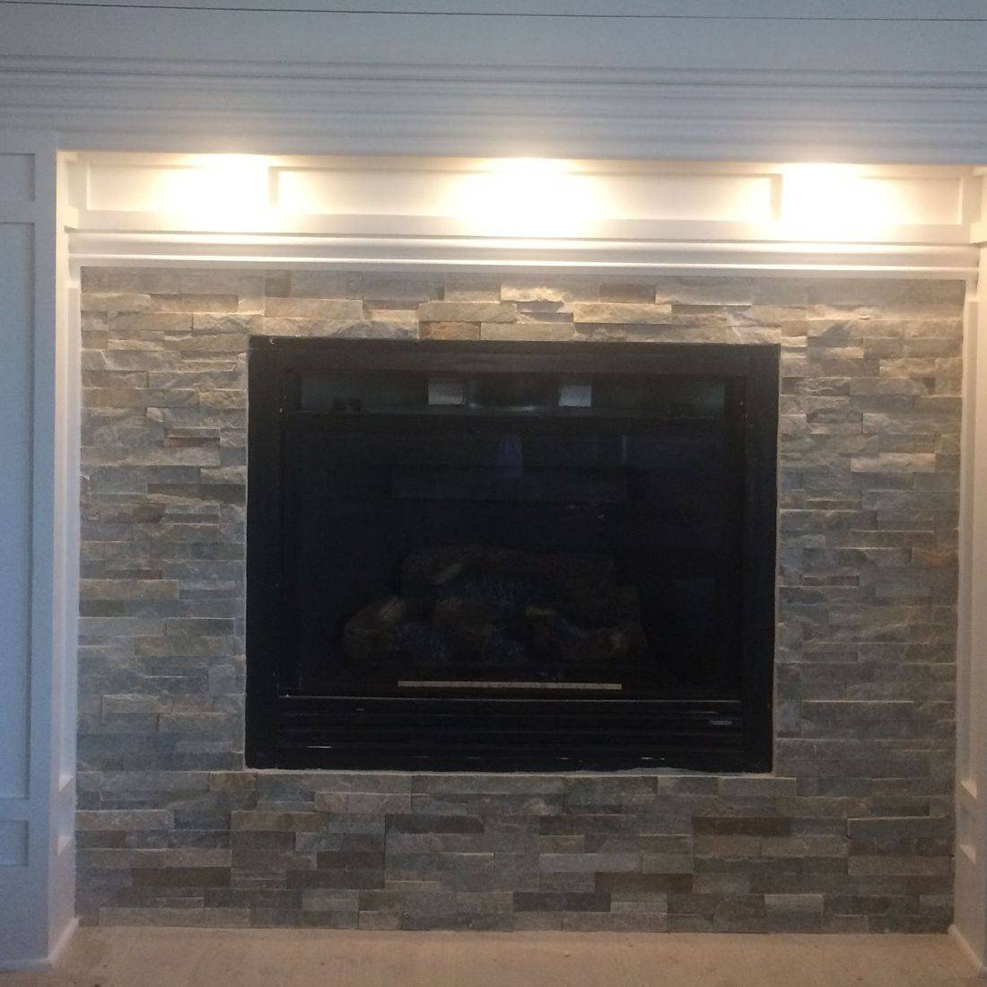 custom build fireplace