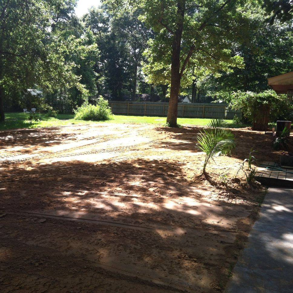grading, install material, select fill, fill dirt, clay, top soil, pad, yard leveling