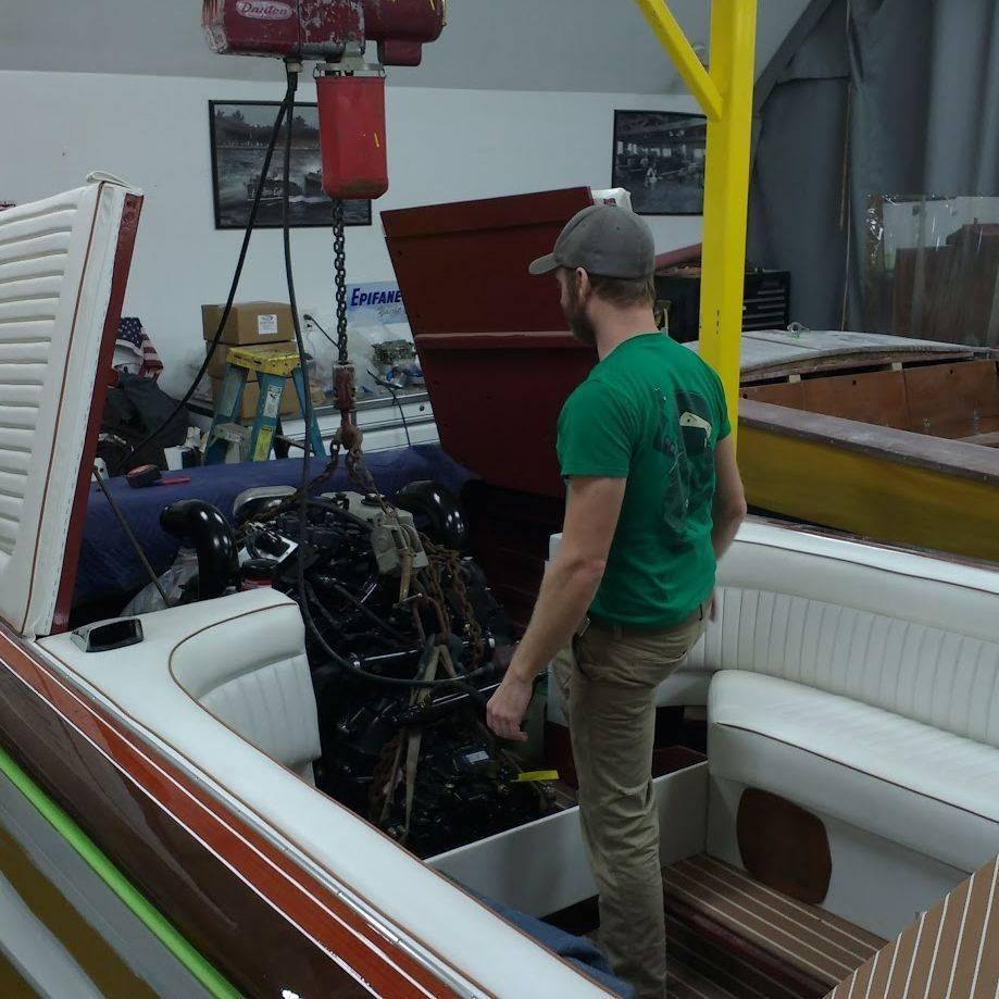 Streblow repowering by Bergersen Boat Co.