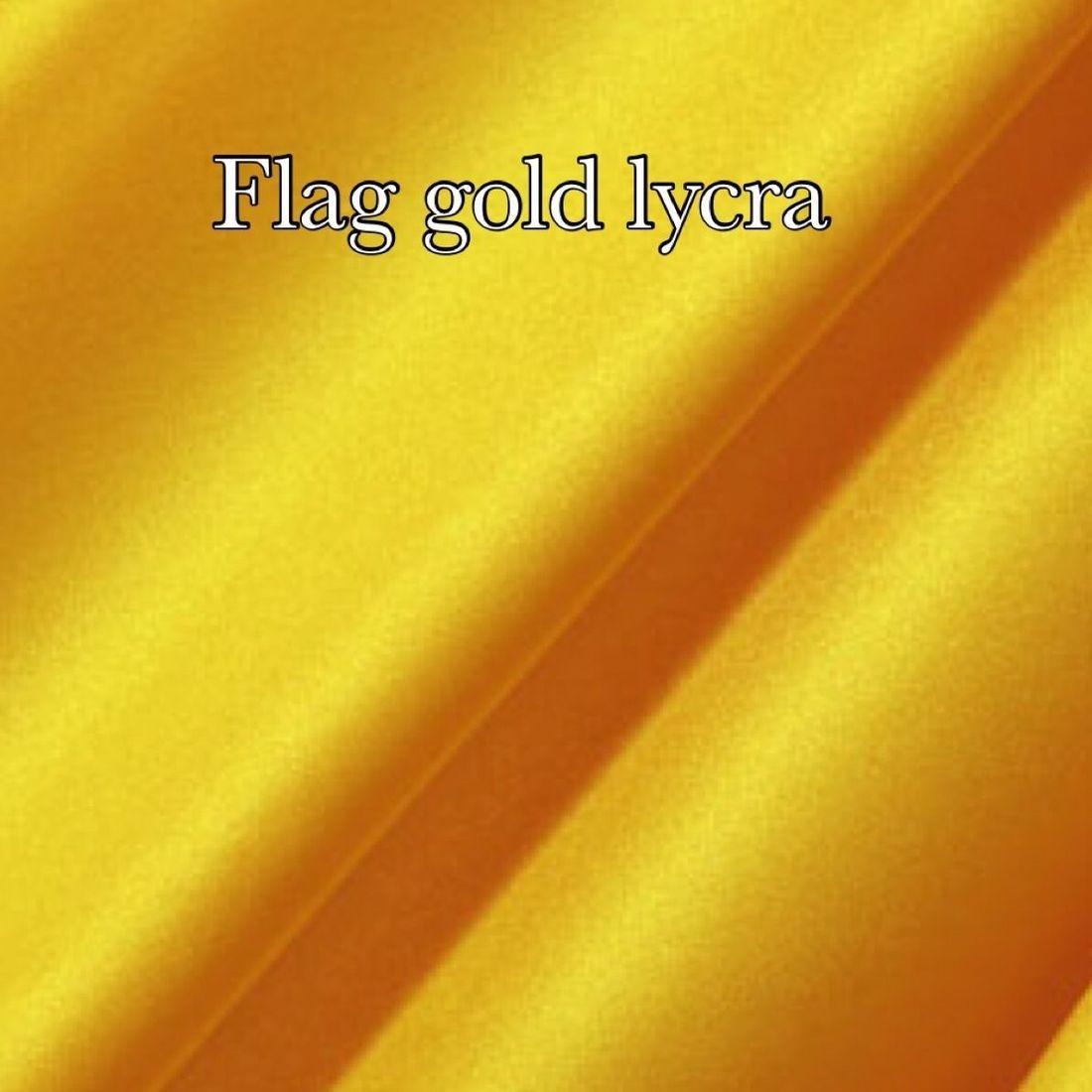 Flag gold lycra