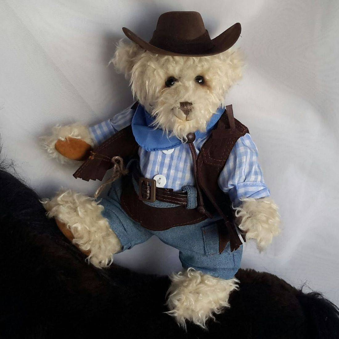 Dinker bear, unique bears,handmade.
