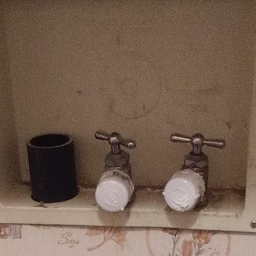 Leaking Laundry Room Valves