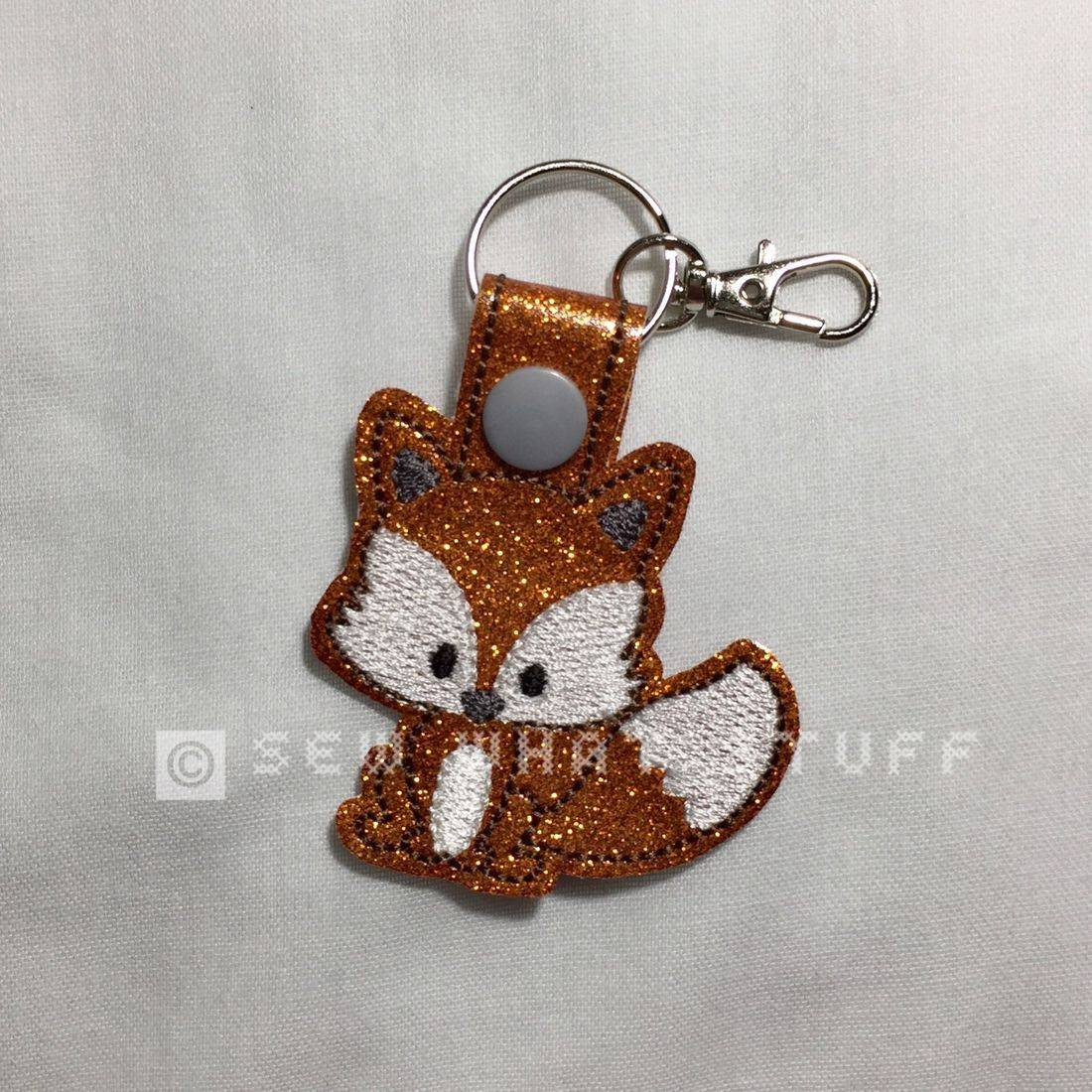 Foxie Key Tag/Zipper Pull