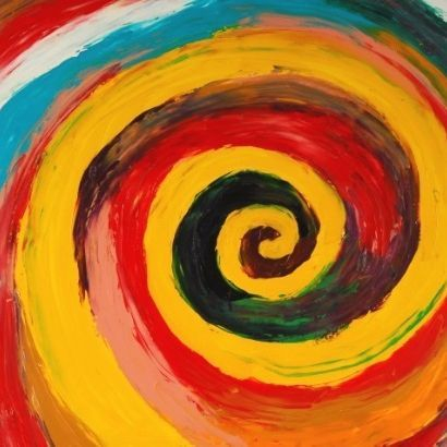 spiral painting