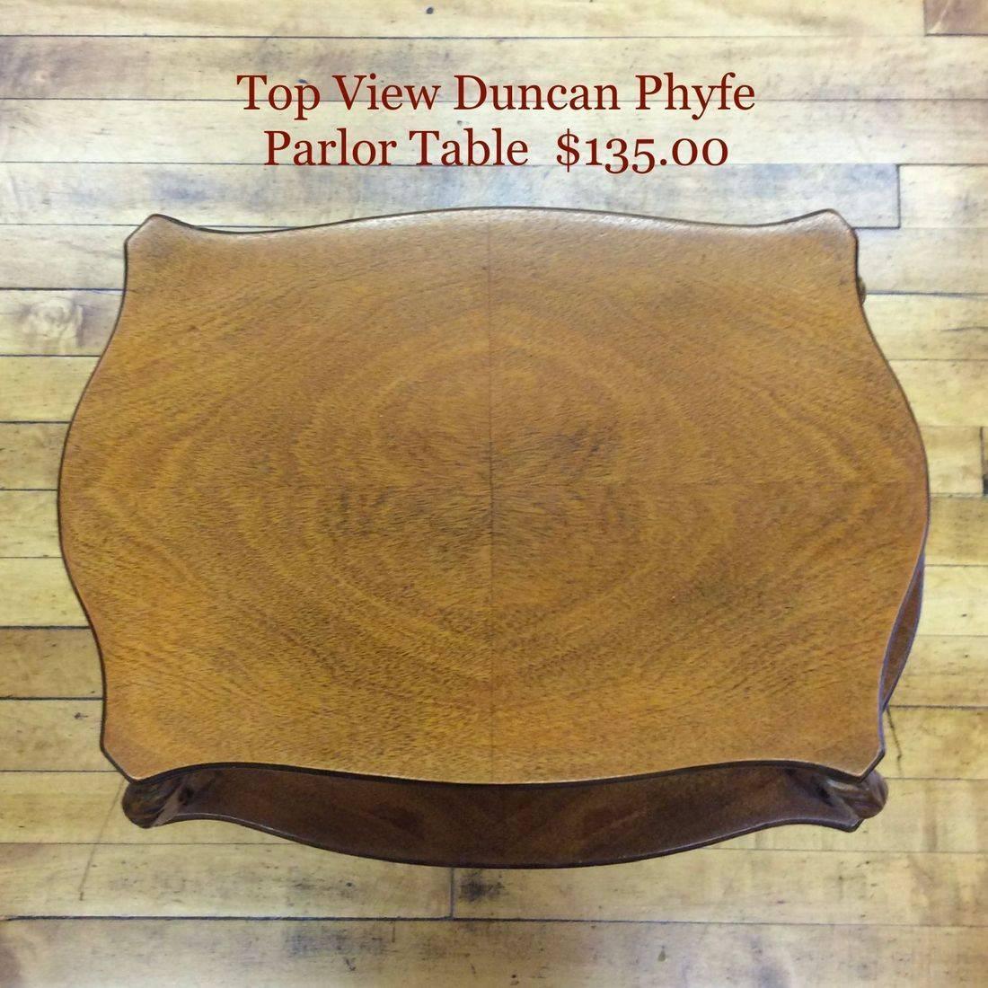 1930's/40's Unique Duncan Phyfe Table Top