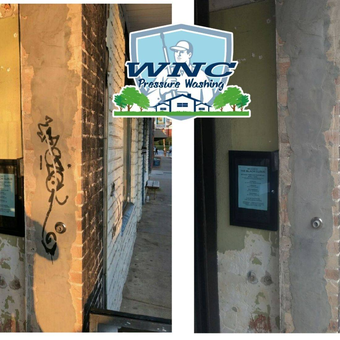 Graffiti Removal Hendersonville NC