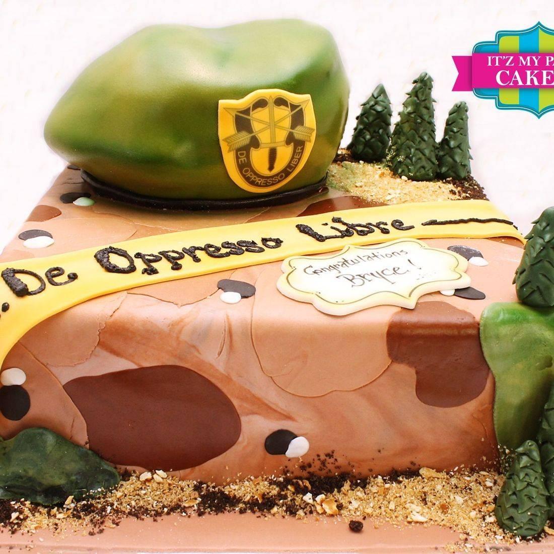 Military Cake Milwaukee