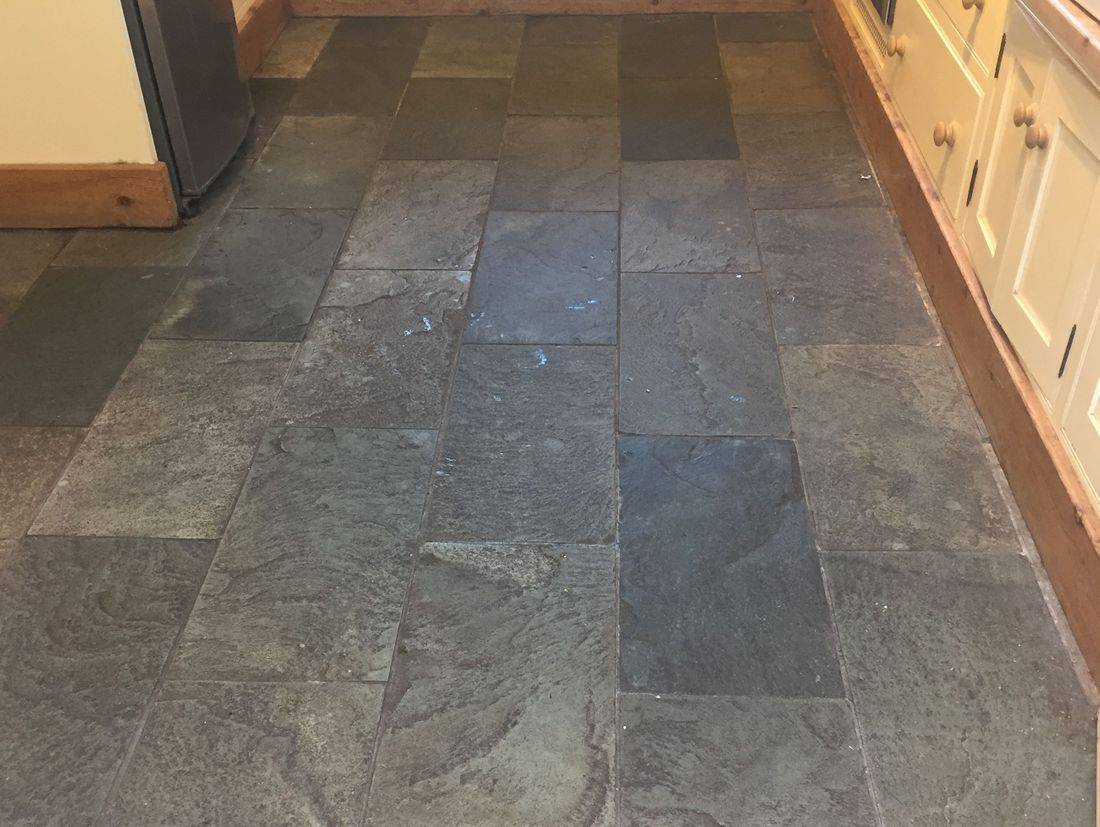 Slate Floor Cleaning. Stone floor Cleaning in Leicester
