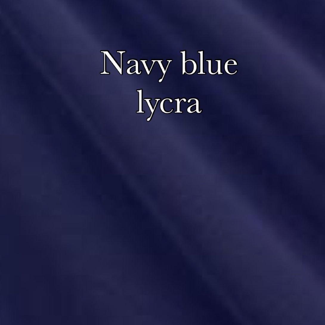 Navy lycra