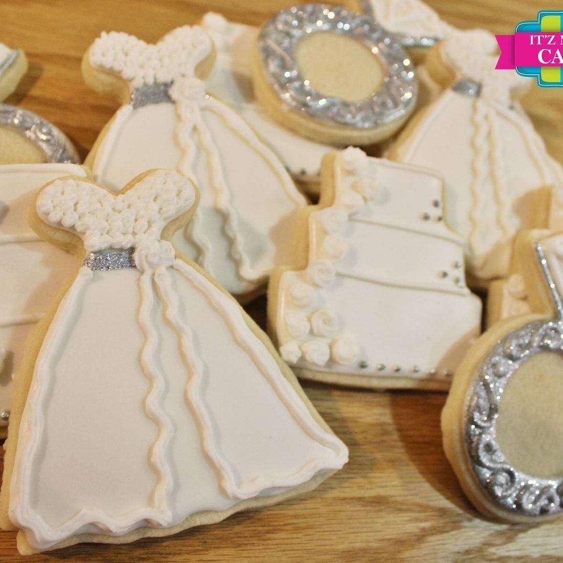 Wedding Set Wedding Dress Ring Cake cookies Milwaukee
