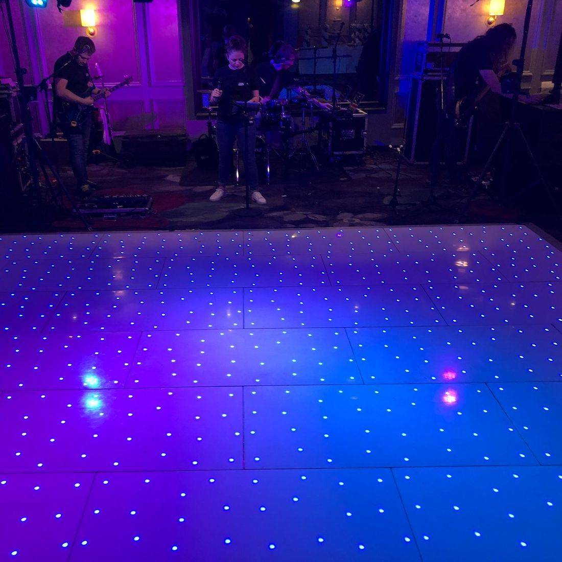 LED Dancefloor at Hotel Du Vin Warickshire