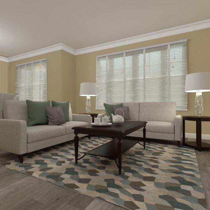 Master bedroom, grey, purple, contemporary, interior design