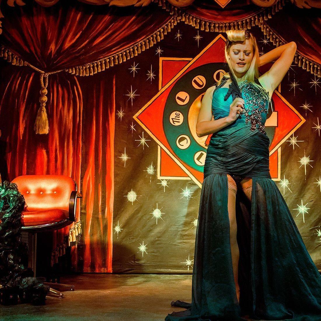 Ruby Deshabille, Torquay,  Burlesque, Paignton, Speakeasy, TheLucky 7 Club, Devon