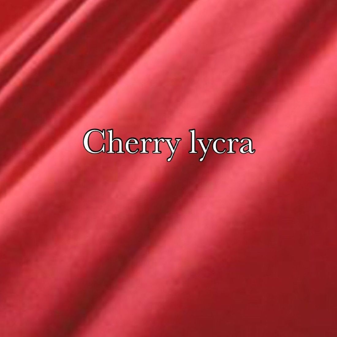 Cherry lycra