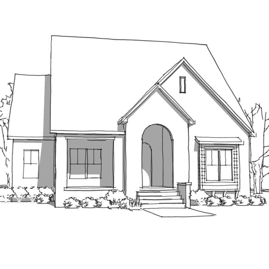 cottage design, Jim Ramsey, ramsey design group, home design, Arkansas home design,