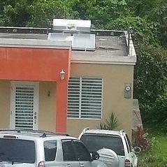 calentador solar Universal instalado