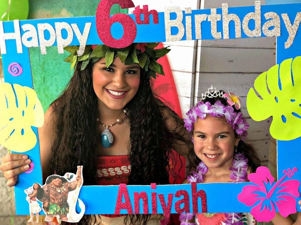 Disney Princess Moana character for kids parties San Antonio