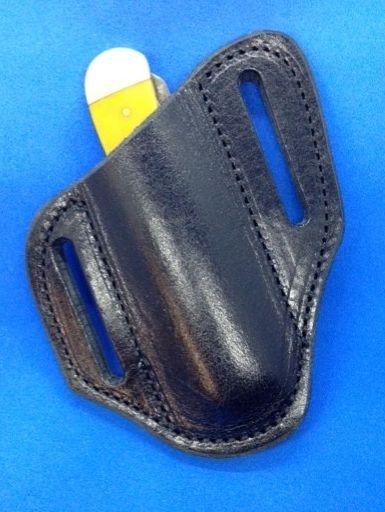 Black sheath , black trapper sheath , Case knife sheath , black case sheath