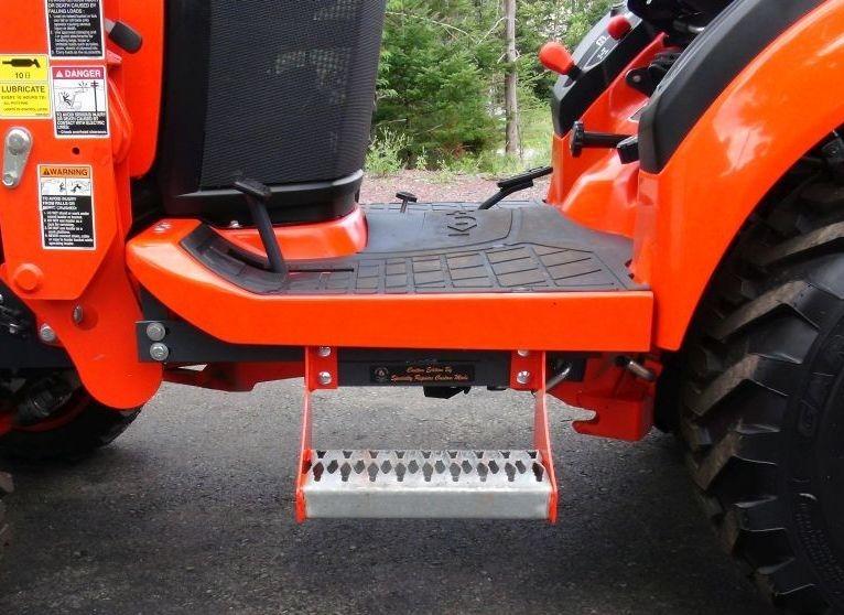 Kubota Step, Kubota tractor step