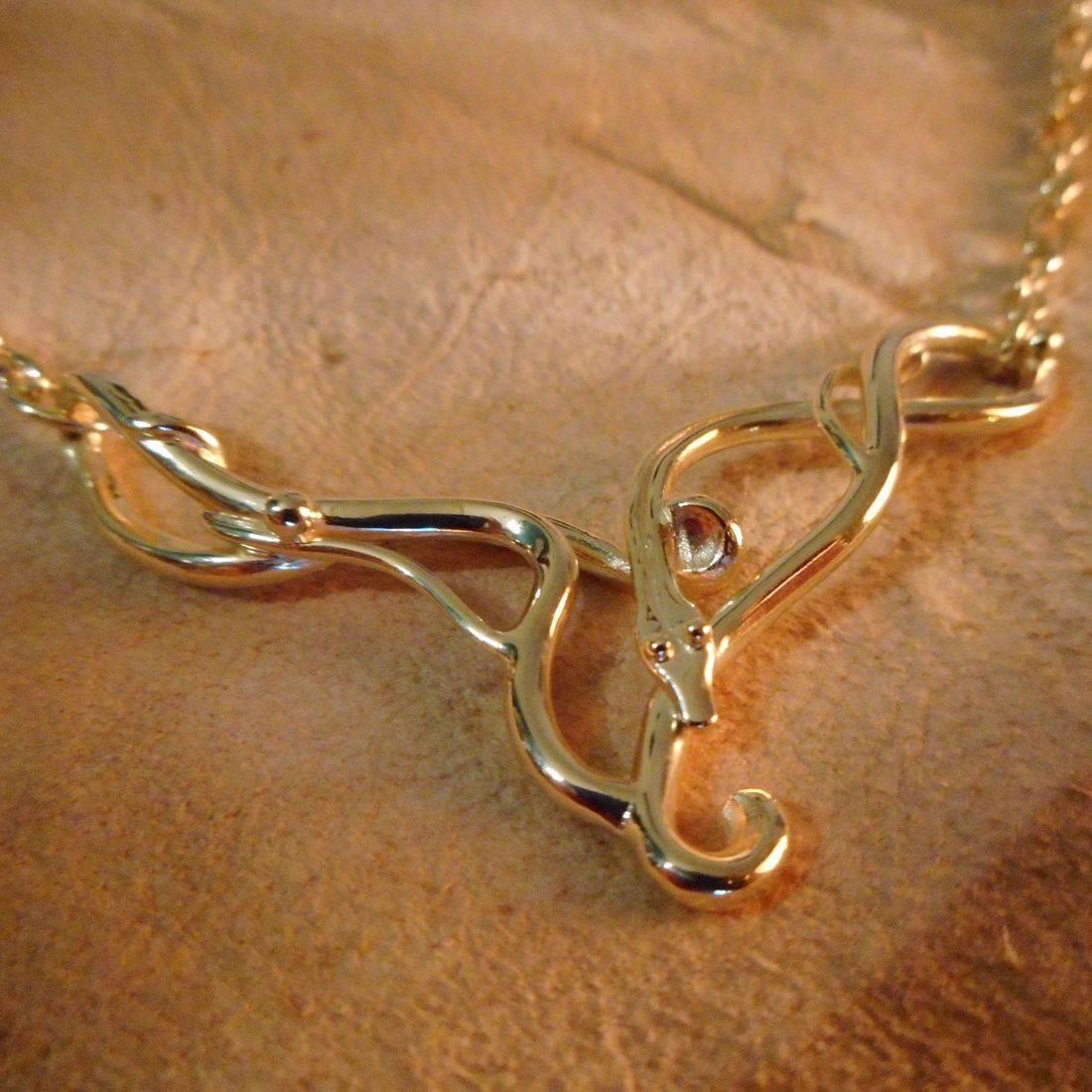 Nordic Mythology Necklace gold