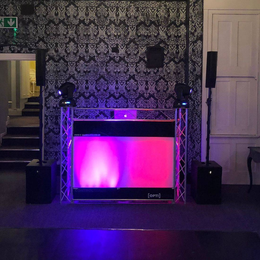 DJ Ollie Clarke Hagley Hall Wedding DJ Stourbridge worcesterhsire