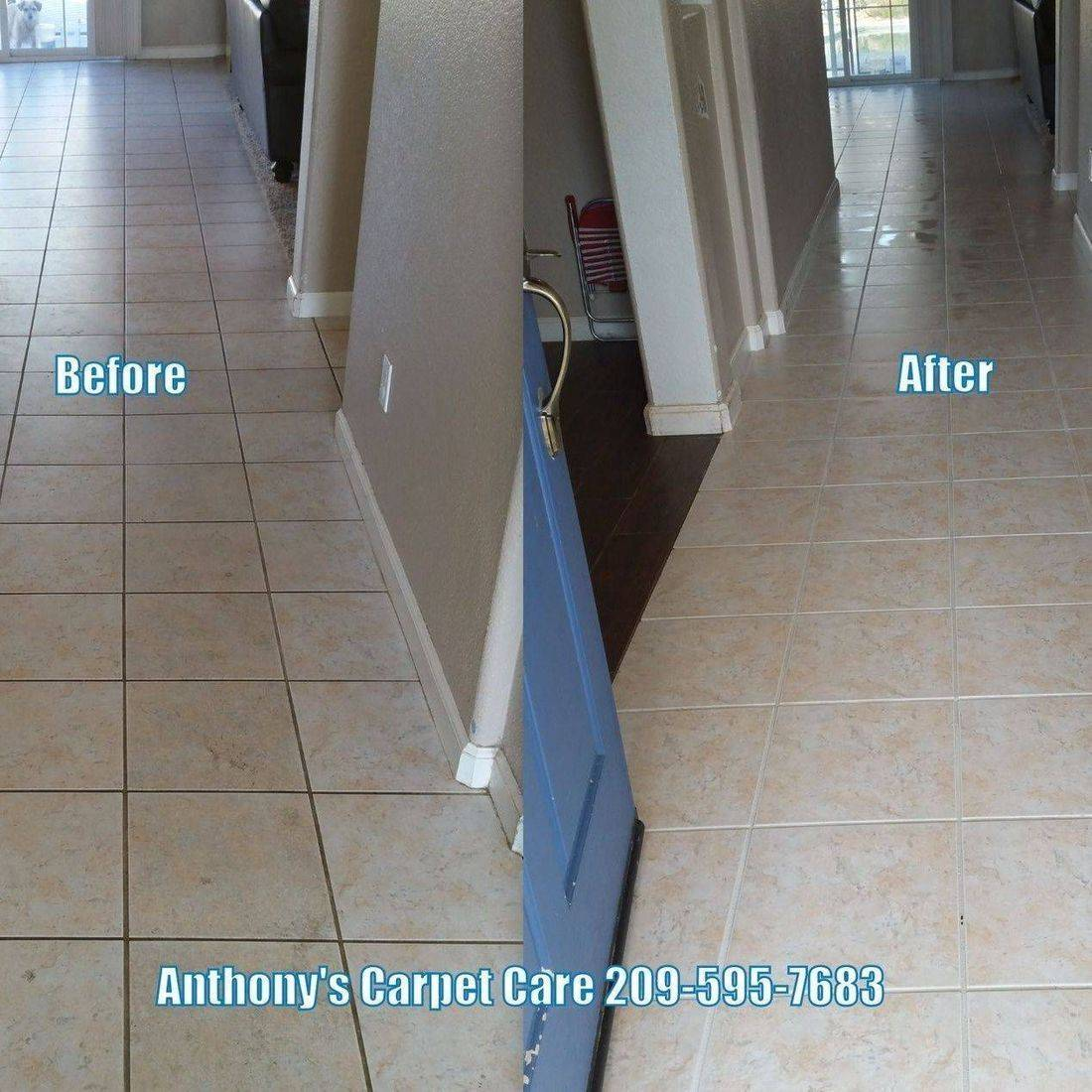Tile & Grout Steam Cleaning Modesto CA