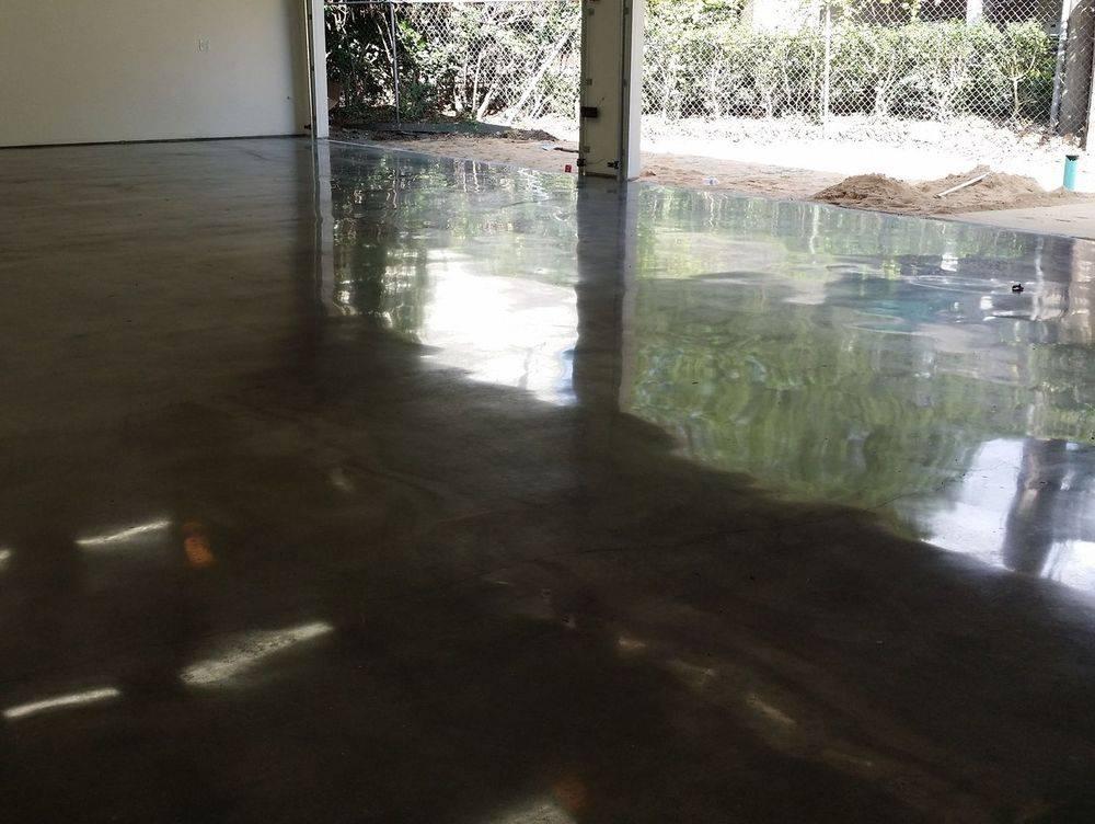 polished concrete garage floor houston texas
