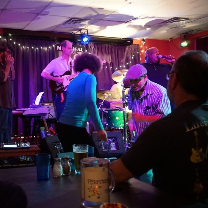 The Mojo Priests rock the house at The New Deal Cafe