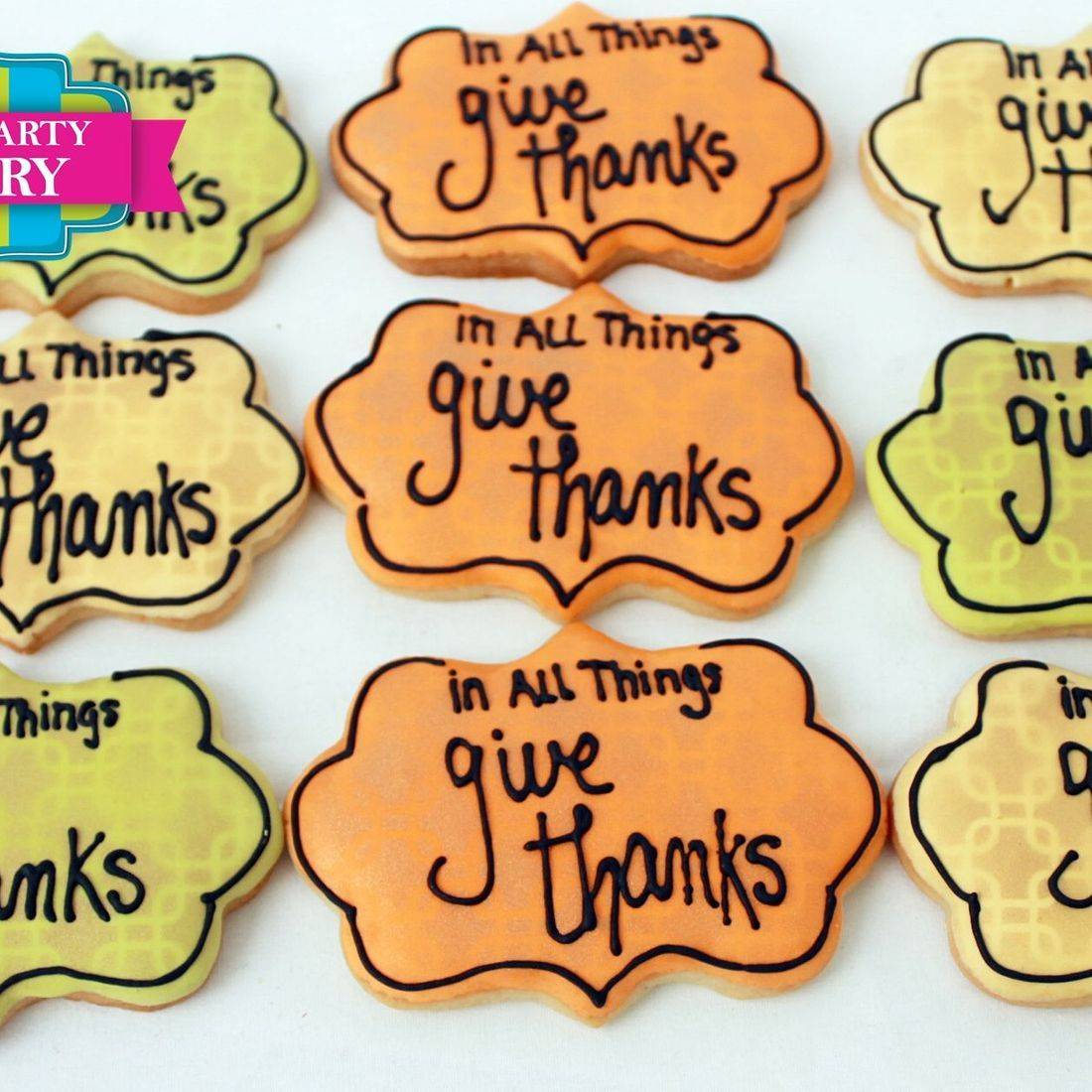 Give Thanks Cookies Milwaukee