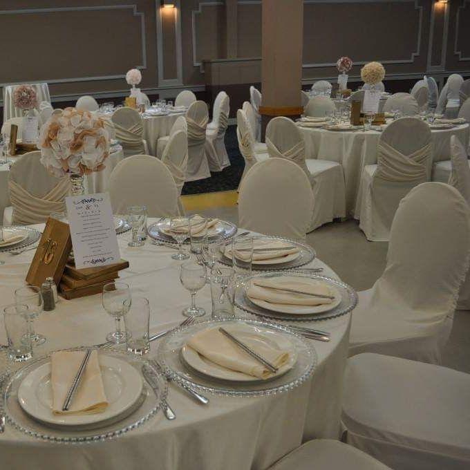 Table Set, Greek, Community Centre, Venue, Party, Wedding, Marriage