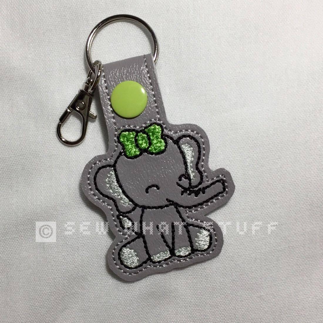 Elephant Key Tag/Zipper Pull