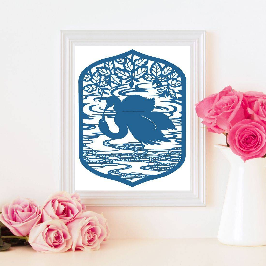 the ugly duckling, crafting template, svg, studio, jpeg, bramble crafts