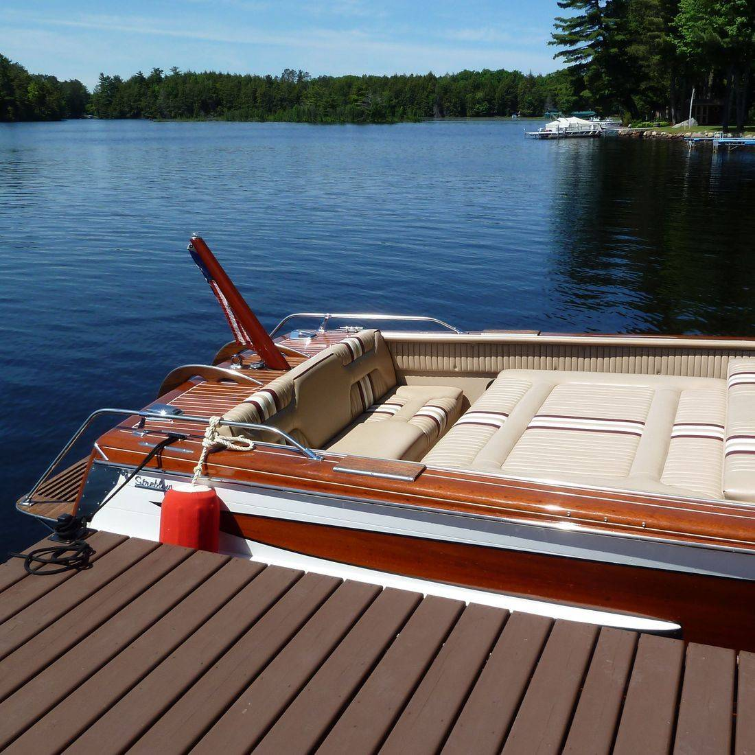 Well maintained Streblow for sale at Bergersen Boat