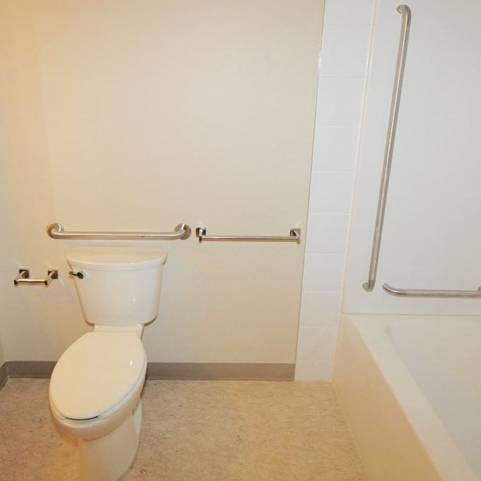 accessible barrier free bathrooms