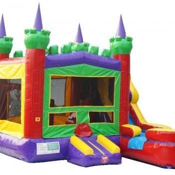 King combo bounce house