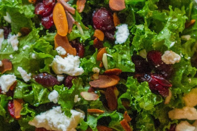 Cran-Raspberry Bash Salad