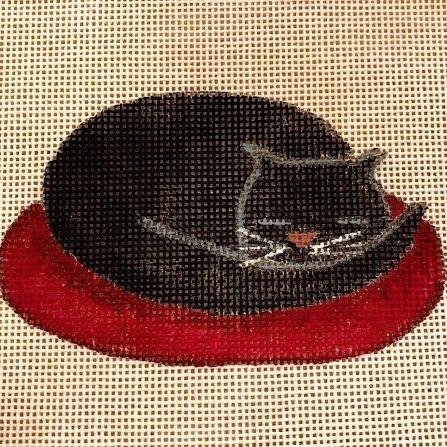black cat pumpkin halloween