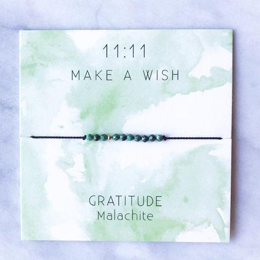 Eleven Love Wish Bracelet, gratitude bracelet,  Locally made in Ottawa, exhalo Barrhaven