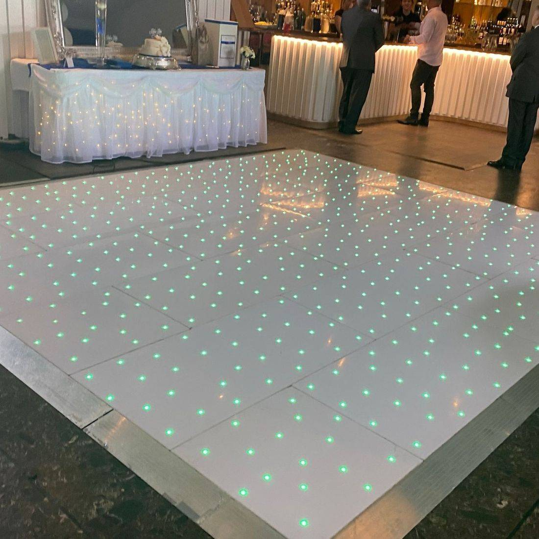 LED Dancefloor Hire Wedding Stourbridge West Midlands